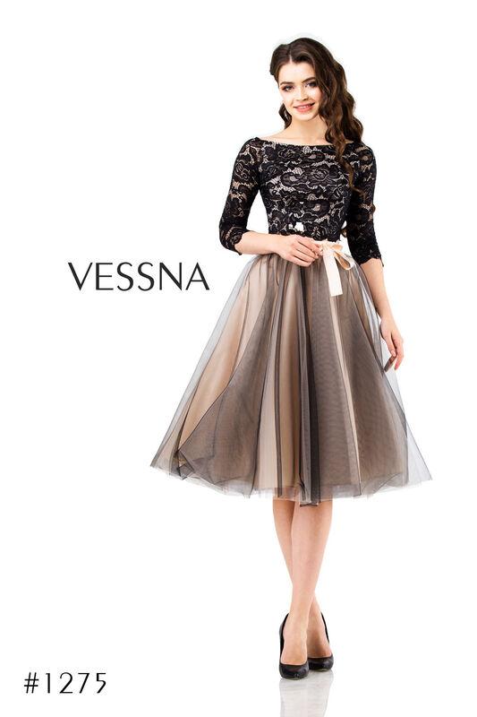 Вечернее платье Vessna Юбка и топ №1275 - фото 2