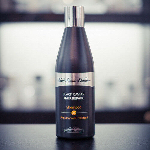 Уход за волосами Mon Platin Восстанавливающий шампунь от перхоти с экстрактом черной икры, 400 мл - фото 1
