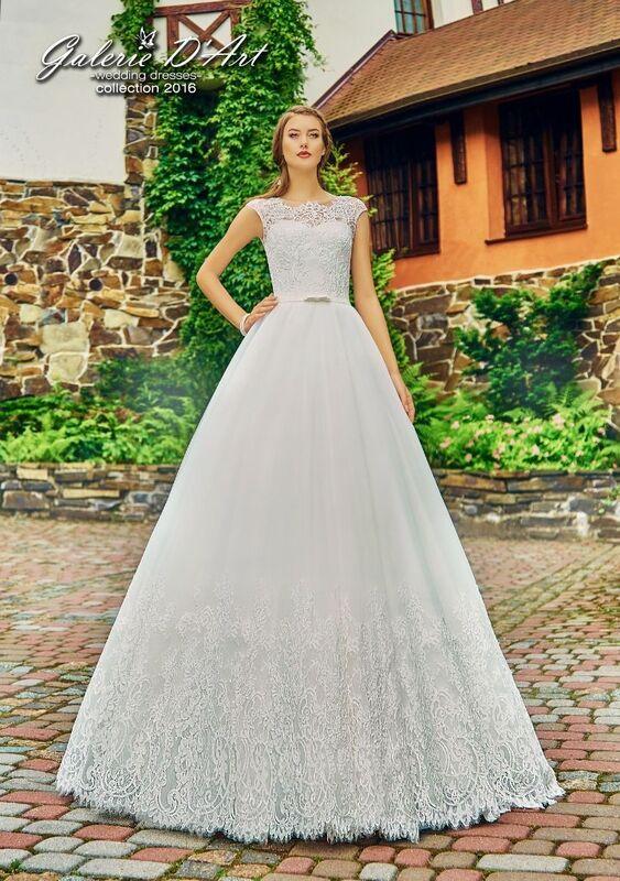 Свадебное платье напрокат Galerie d'Art Платье свадебное «Джульетта 2» из коллекции BESTSELLERS - фото 1