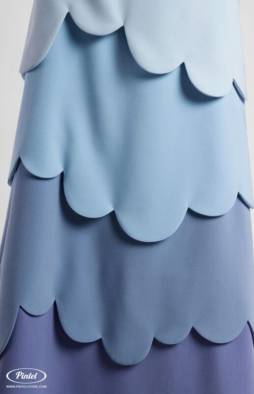 Платье женское Pintel™ Миди-платье А-силуэта Juvinianka - фото 4
