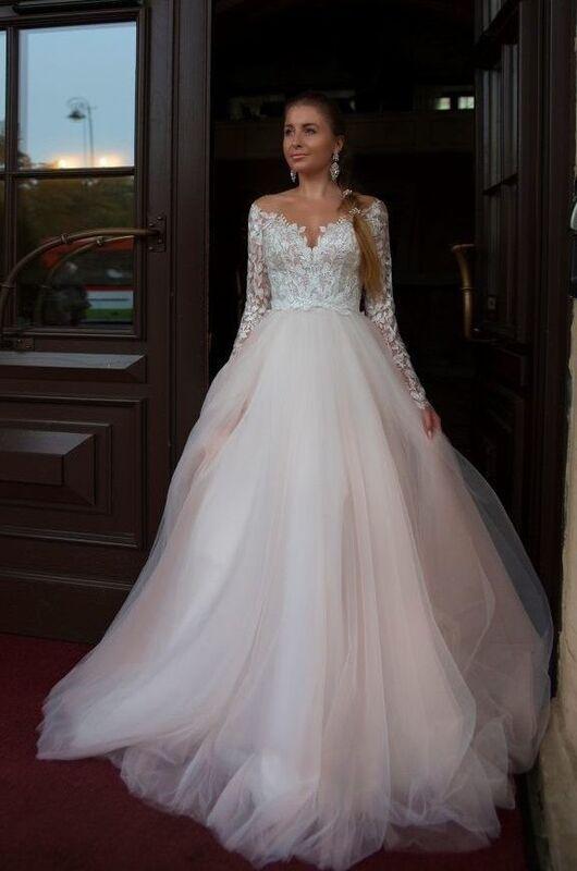 Свадебное платье напрокат Rafineza Свадебное платье Olivia напрокат - фото 1