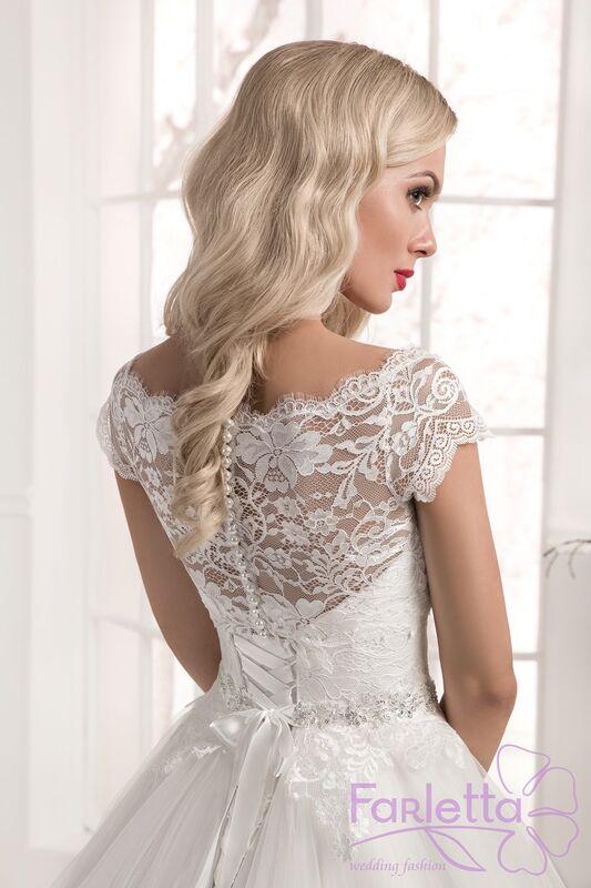 Свадебное платье напрокат Farletta Платье свадебное Laur - фото 4