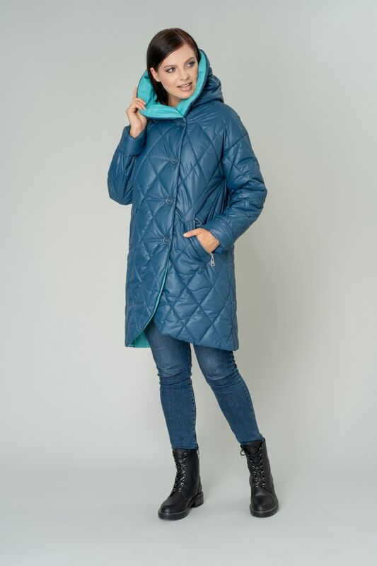 Верхняя одежда женская Elema Пальто женское плащевое утепленное 5-9437-1 - фото 1