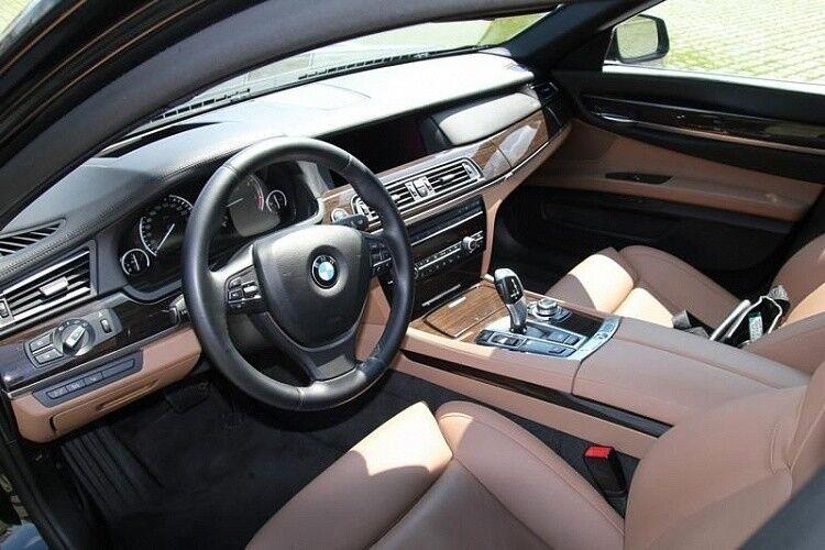 Прокат авто BMW F02 7 series черного цвета - фото 13