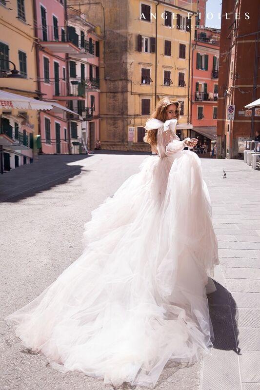 Свадебный салон Ange Etoiles Платье свадебное Ali Damore Gretta - фото 3