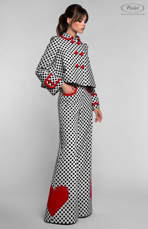 Костюм женский Pintel™ Комбинированный костюм YASMIN - фото 5