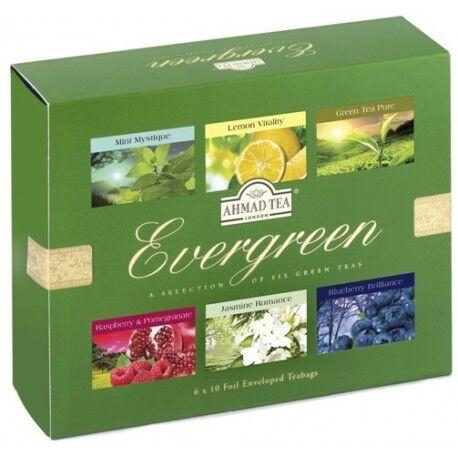 Подарок Ahmad Чайный набор «Evergreen», 60 пакетов - фото 1