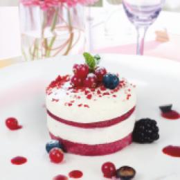 Торт ФМ «Престиж» Тирамису «Красные ягоды» - фото 1