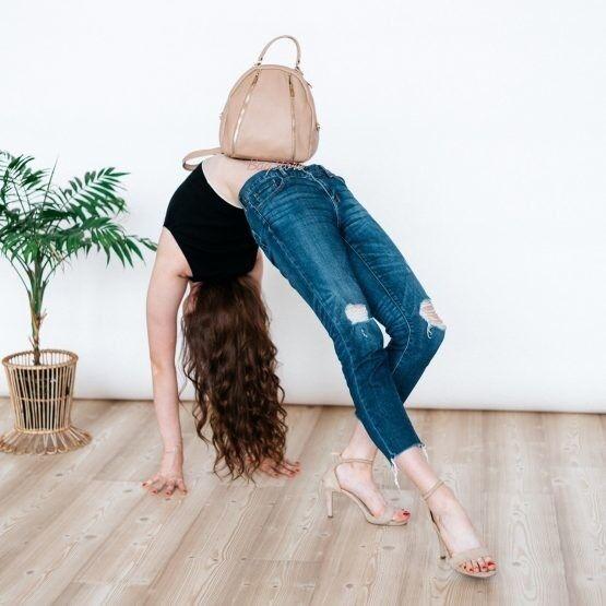 Магазин сумок Vezze Кожаный женский рюкзак C00511 - фото 2