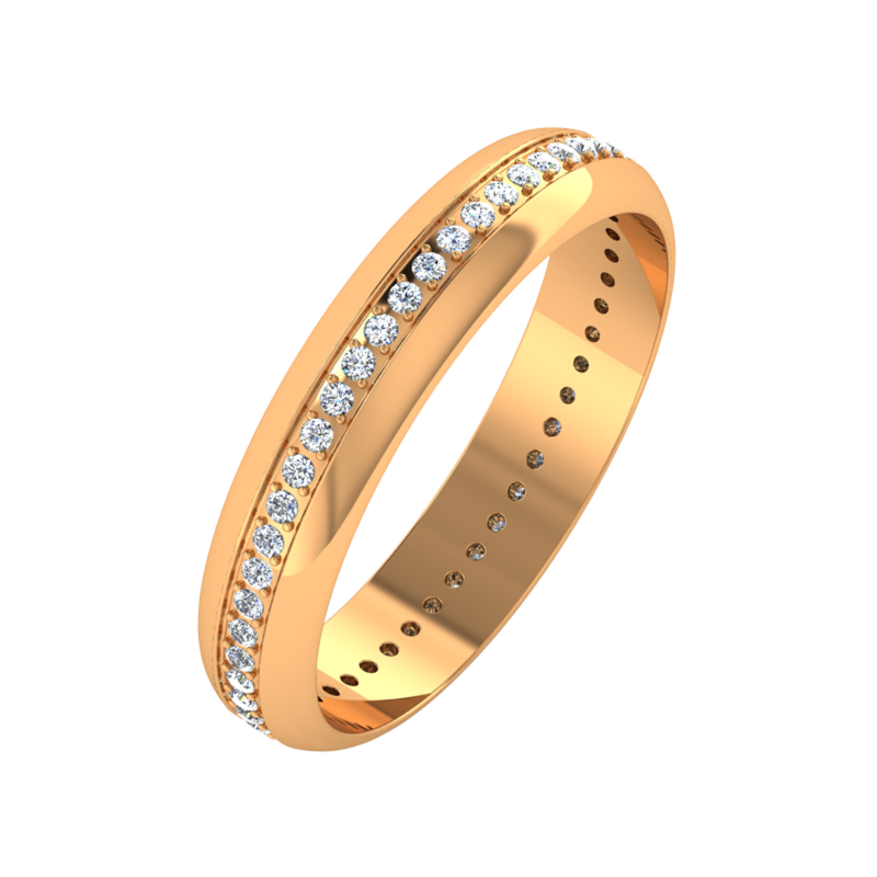 Ювелирный салон ZORKA Обручальное кольцо 1D4047 - фото 1