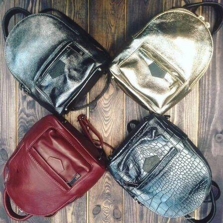 44375286e9bf Купить Кожаный рюкзак C00145 Vezze в Минске – цены продавцов