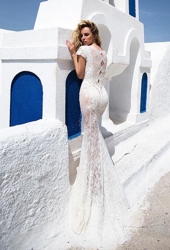 Свадебное платье напрокат Oksana Mukha Платье свадебное Venera - фото 2