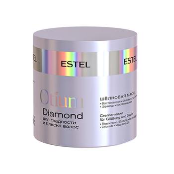 Уход за волосами Estel Otium Diamond Маска-блеск для гладкости волос - фото 1