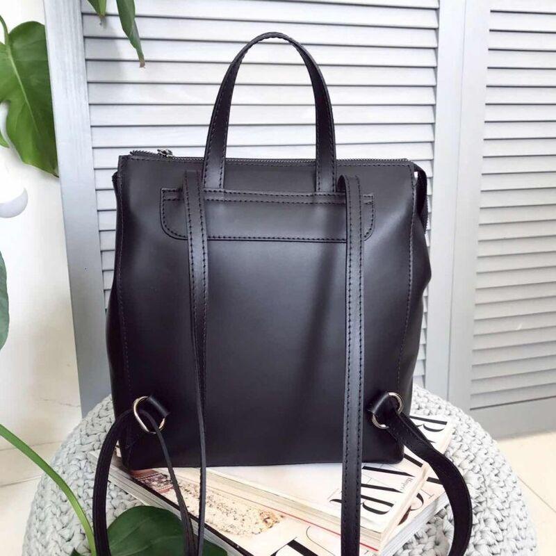 Магазин сумок Vezze Кожаный рюкзак C00220 - фото 2
