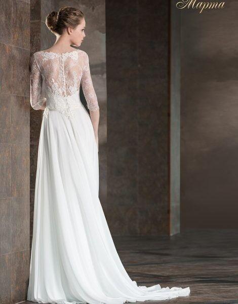 Свадебное платье напрокат Lady White Платье свадебное «Марта» - фото 2