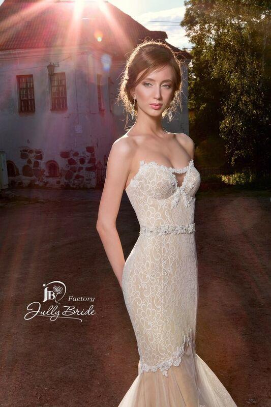 Свадебное платье напрокат Jully Bride Factory Платье свадебное Malibu - фото 2