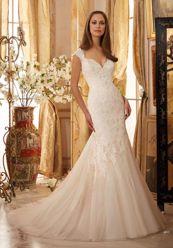 Свадебное платье напрокат Mori Lee Платье свадебное 5472 - фото 1
