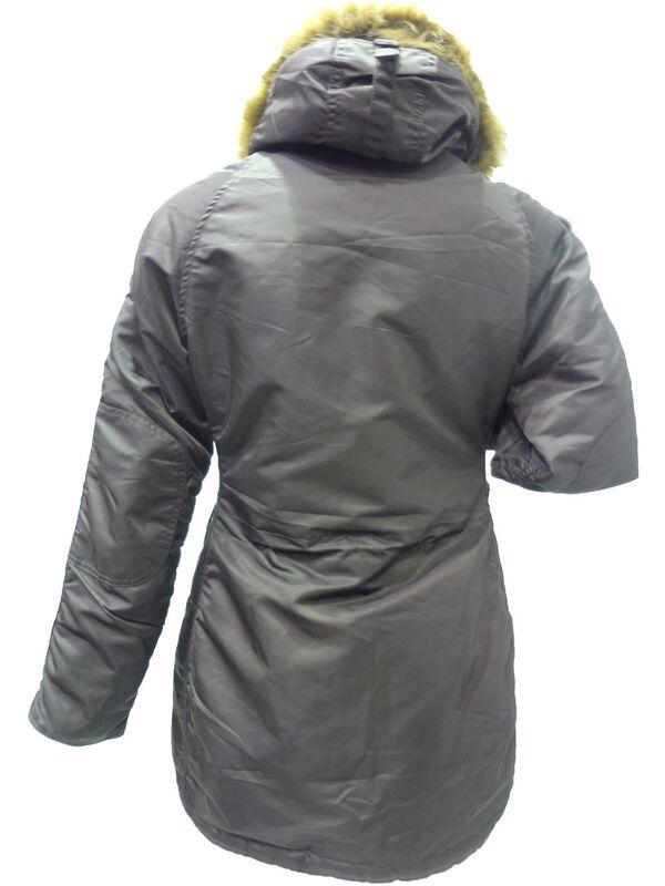 Спортивная одежда Alpha Industries Женская куртка-аляска N-3B - фото 2