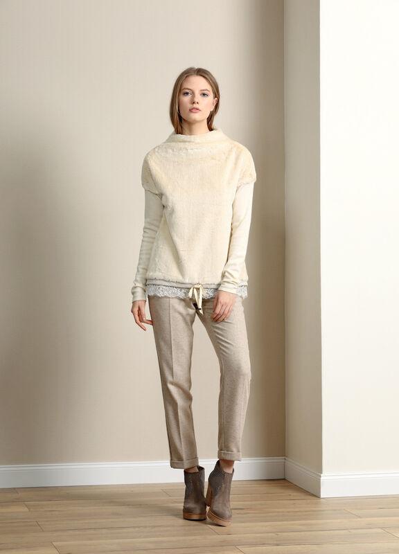 Кофта, блузка, футболка женская Burvin Джемпер женский 5822 - фото 1