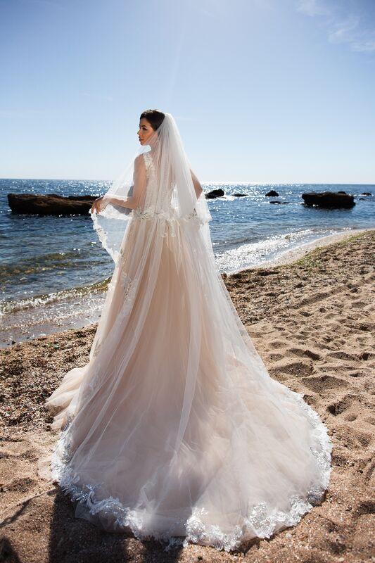 Свадебное платье напрокат Ida Torez Cocles Braun - фото 4