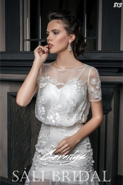 Свадебный салон Sali Bridal Свадебное платье 813 sali bridal - фото 2
