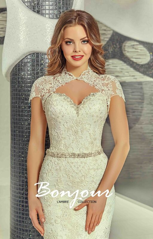 Свадебный салон Bonjour Galerie Свадебное платье «Olivia» из коллекции LAMBRE - фото 6