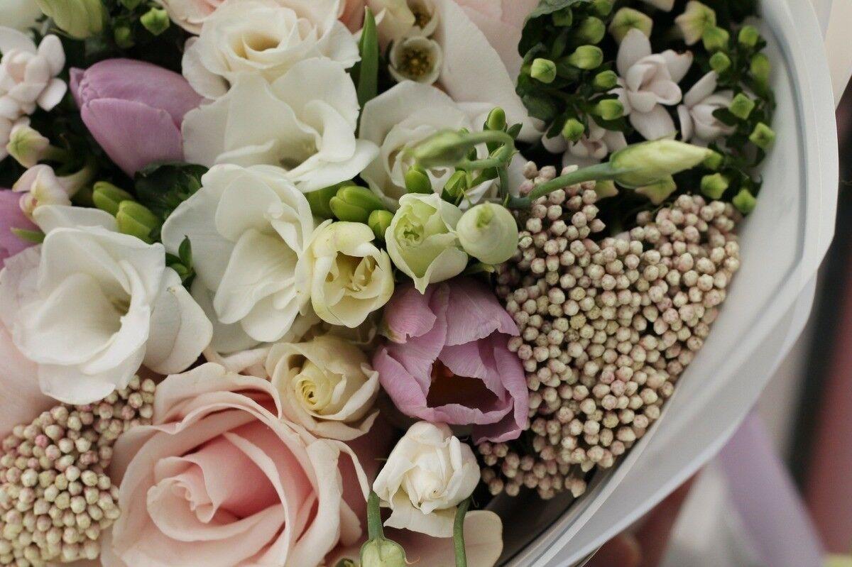 Магазин цветов Cvetok.by Букет «Ванильный фреш» - фото 2