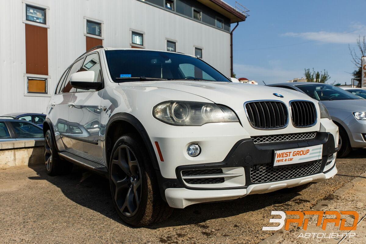 Прокат авто BMW X5 (E70 кузов) 2009 белый - фото 1