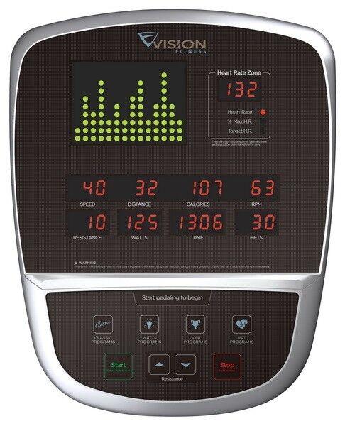 Тренажер Vision Fitness Горизонтальный велотренажер R60 - фото 2