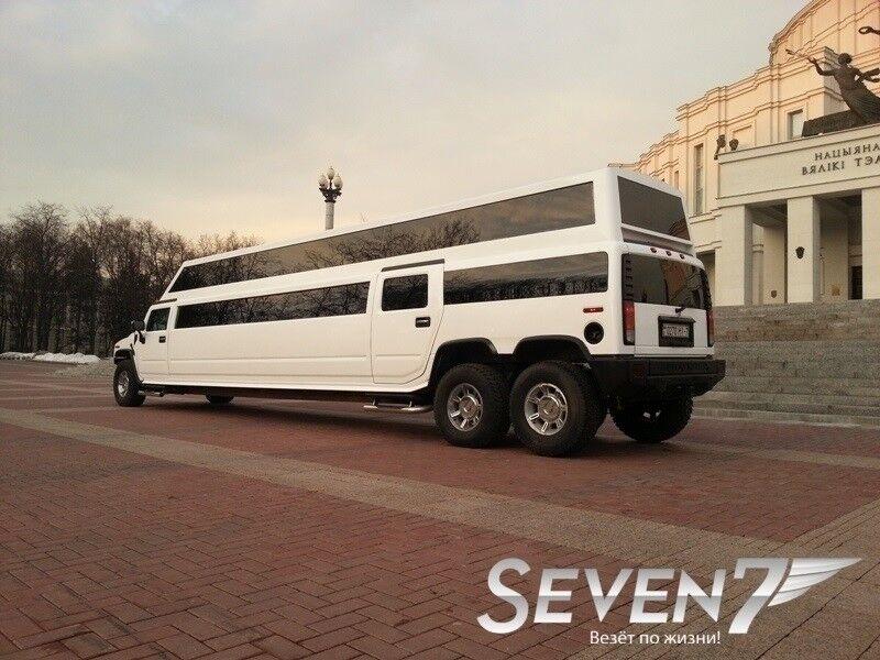 Аренда авто Hummer H2 Mega - фото 3
