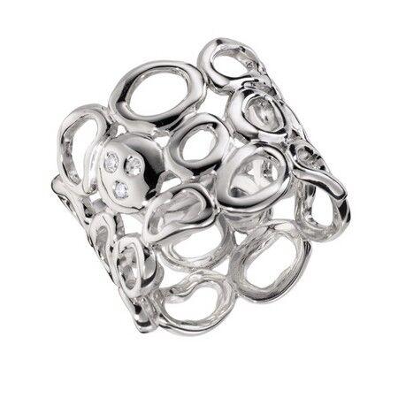 Ювелирный салон Hot Diamonds Кольцо серебряное DR098 - фото 1