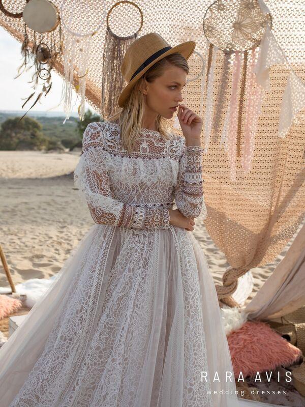 Свадебное платье напрокат Rara Avis Свадебное платье Wild Soul Alyfi - фото 4
