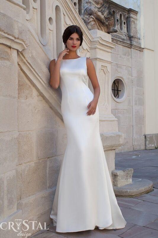 Свадебное платье напрокат Crystal Свадебное платье Calipso - фото 2