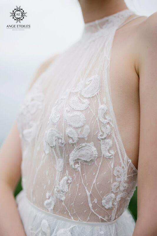 Свадебный салон Ange Etoiles Свадебное платье AEriality Collection  Seage - фото 3