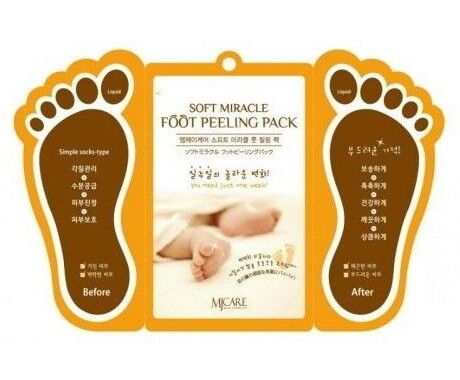Уход за телом Mijin Носочки для пилинга Soft Miracle Foot Peeling Pack - фото 1