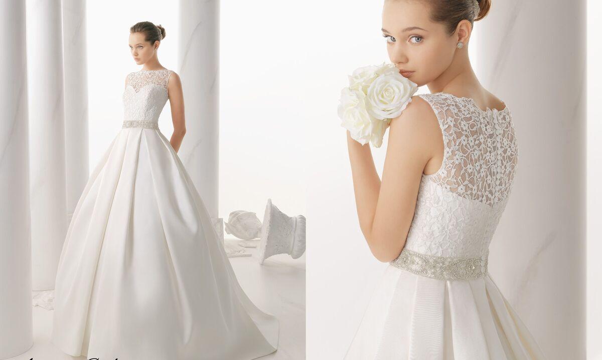 Свадебное платье напрокат Rosa Clara Платье свадебное Niquel - фото 2