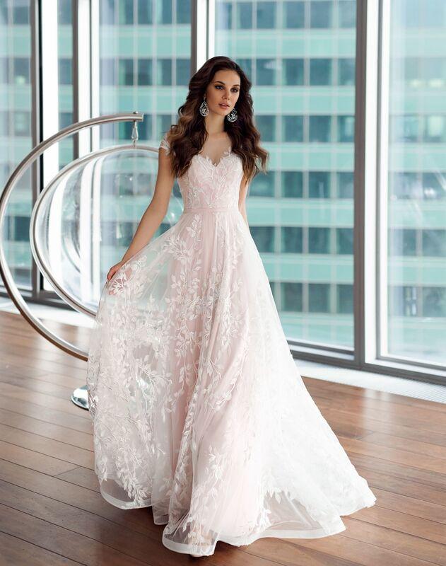 Свадебное платье напрокат Natalia Romanova Свадебное платье  Eliya - фото 1