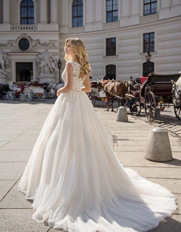 """Свадебное платье напрокат ALIZA свадебное платье """"Dina"""" - фото 2"""