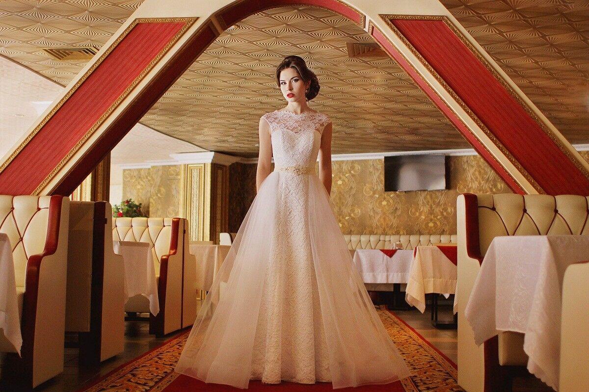 Свадебное платье напрокат ALIZA Платье свадебное «Adel» Diva Vivien - фото 4
