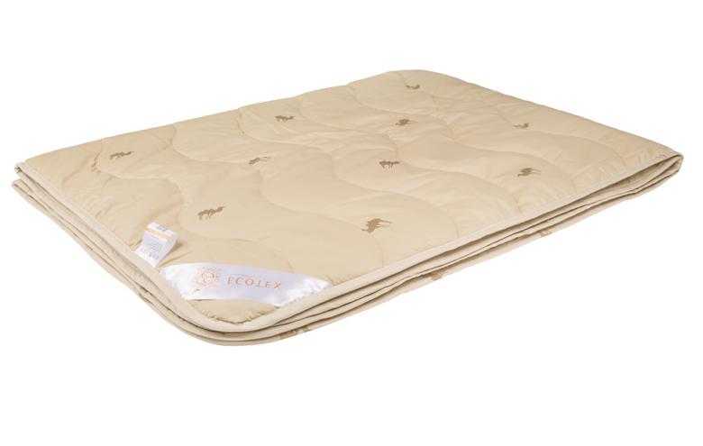 Подарок Ecotex Облегченное верблюжье одеяло «Караван» ООВТЕ - фото 1