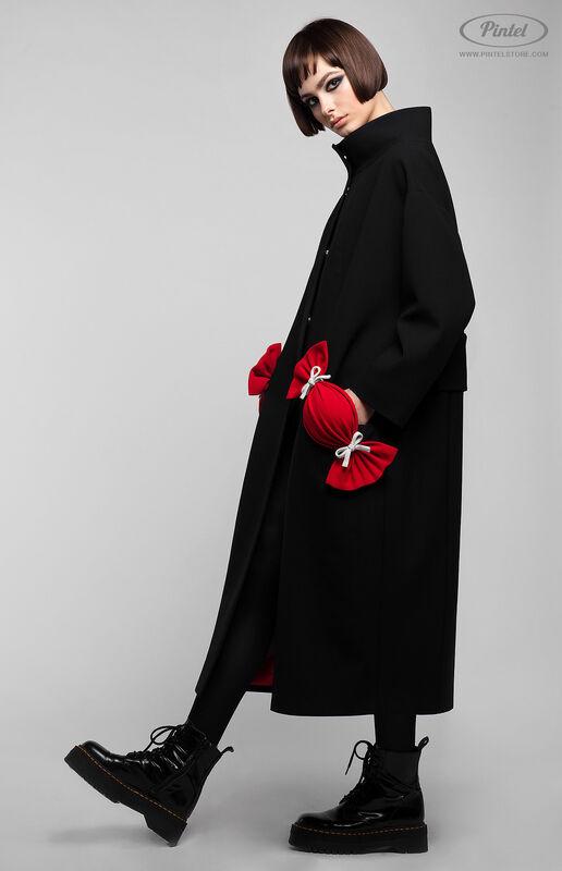 Верхняя одежда женская Pintel™ Пальто свободного силуэта Davine - фото 2