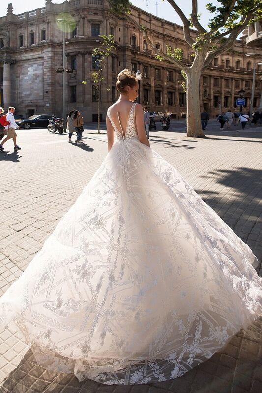 Свадебный салон Ida Torez Свадебное платье Rambla - фото 2