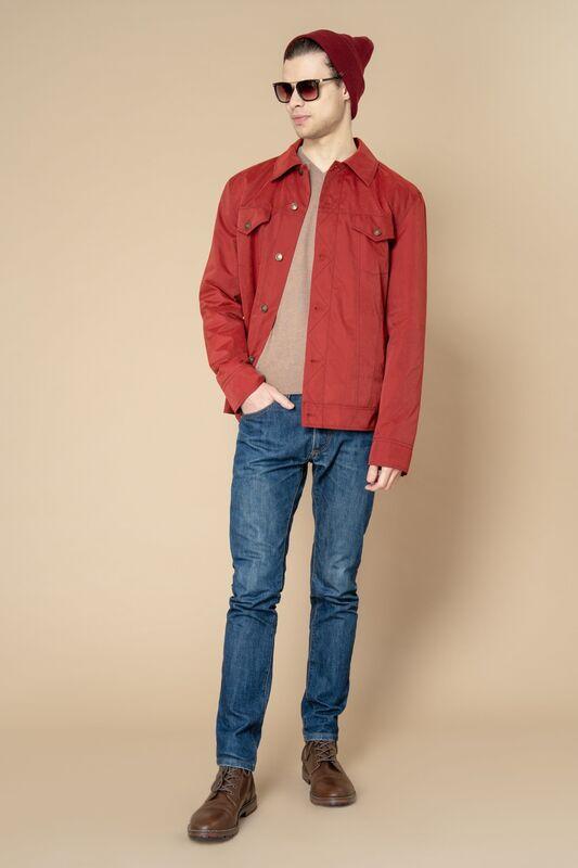 Верхняя одежда мужская Etelier Куртка мужская плащевая утепленная 4М-8530-1 - фото 2
