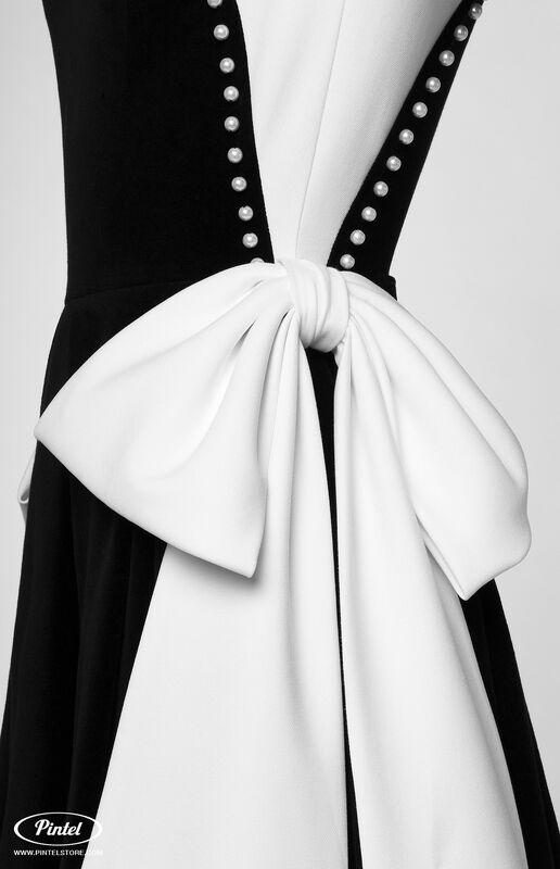 Платье женское Pintel™ Комбинированное платье  Abigale - фото 4