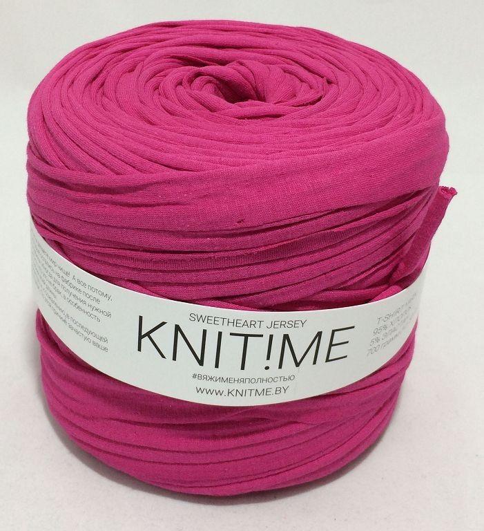 Товар для рукоделия Knit!Me Ленточная пряжа Sweetheart Jersey - Дикая орхидея (SJ058) - фото 1