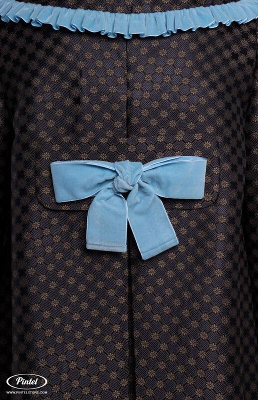Верхняя одежда женская Pintel™ Комплект из пальто и комбинезона с укороченными шортами Parsis - фото 5