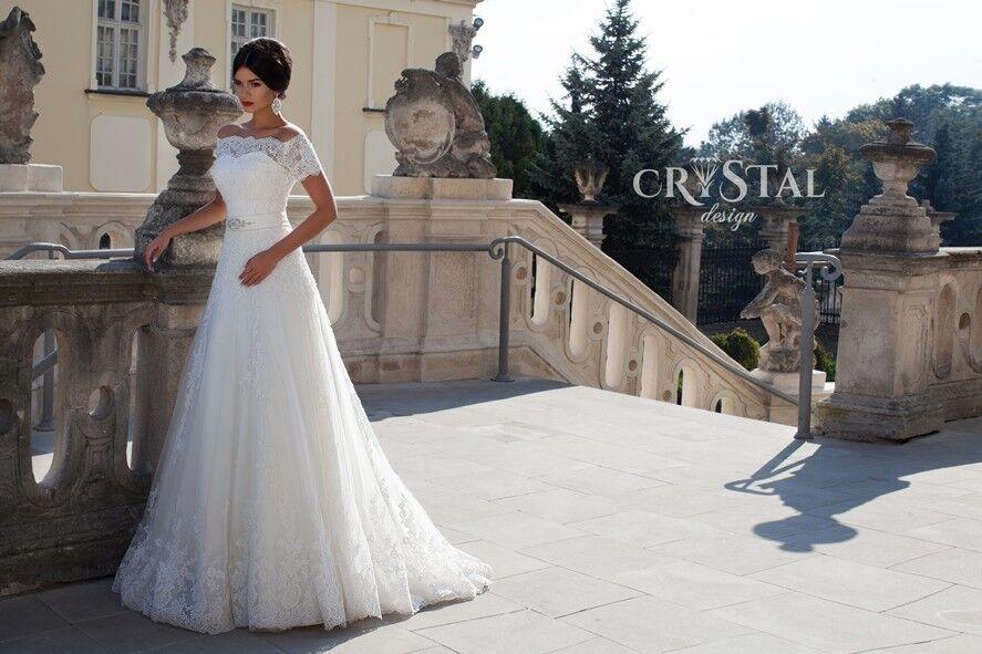 Свадебное платье напрокат Crystal Свадебное платье  Stella - фото 1