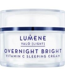 Уход за лицом LUMENE Восстанавливающий крем-сон с витамином С Valo Overnight Bright Sleeping Cream - фото 1