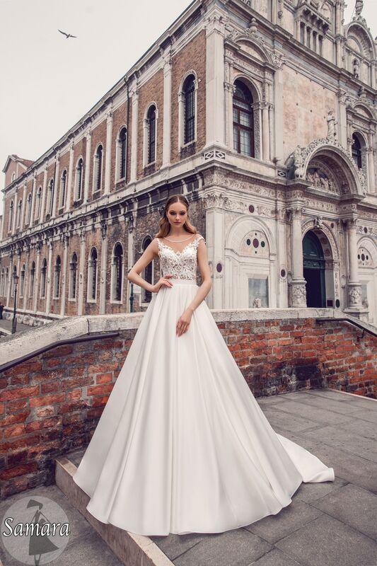 Свадебное платье напрокат Bonjour Платье свадебное «Samara» из коллекции LE DELICE 2018 - фото 1