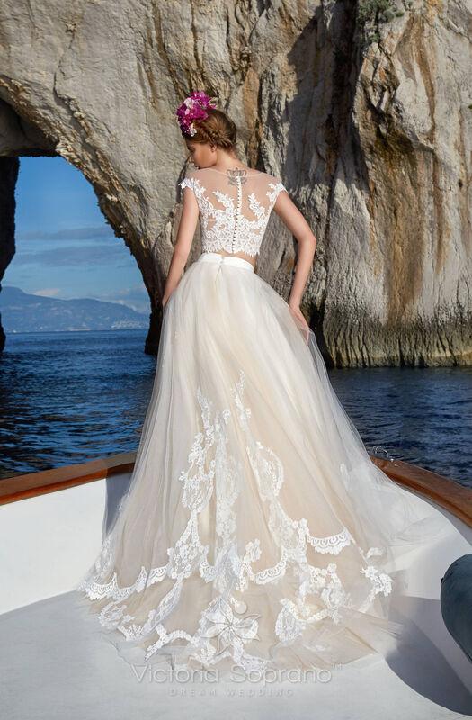Свадебное платье напрокат City Bride Свадебное платье VS13518 - фото 2